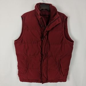 Abercrombie & Fitch Mens SUMMIT ROCK Down Puffer V